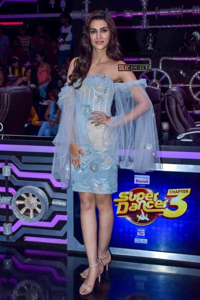 Kriti Sanon Promotes 'Luka Chuppi' On The Sets Of Super Dancer Chapter 3