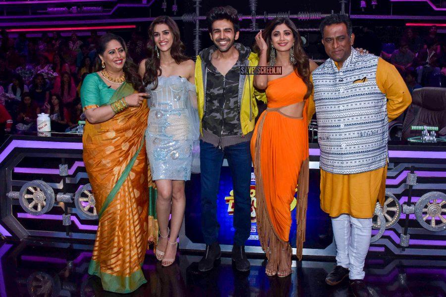 Kartik Aaryan, Kriti Sanon, Shilpa Shetty Promote 'Luka Chuppi' On The Sets Of Super Dancer Chapter 3