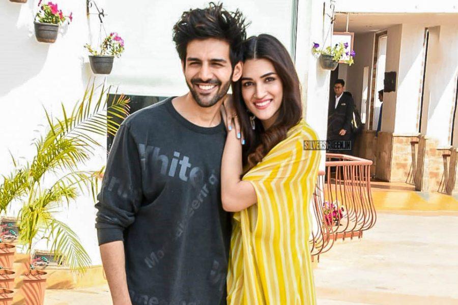 Kartik Aaryan & Kriti Sanon Promote 'Luka Chuppi'