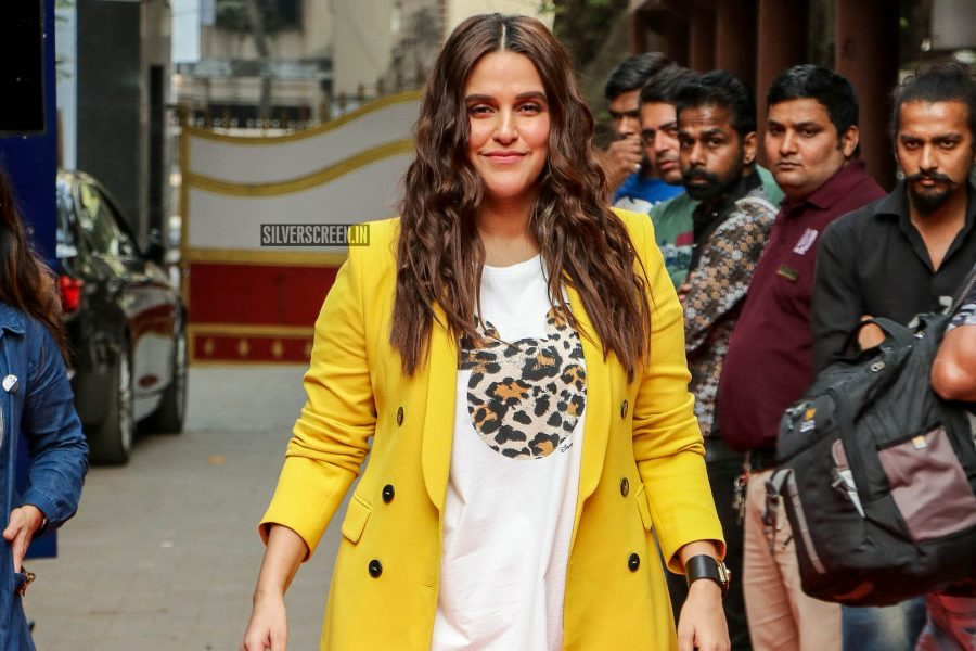 Neha Dhupia On The Sets Of Vogue BFFs Show