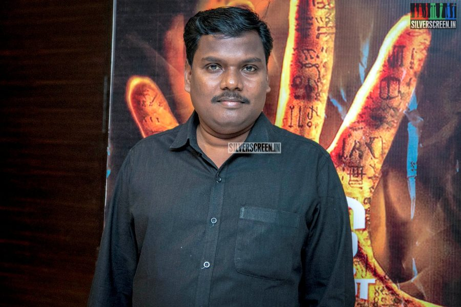 Yugabharathi At The 'Aghavan' Audio Launch