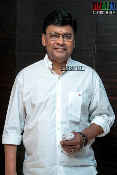 K Bhagyaraj At The 'Aghavan' Audio Launch