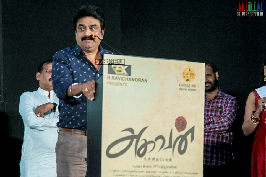 Chinni Jayanth  At The 'Aghavan' Audio Launch