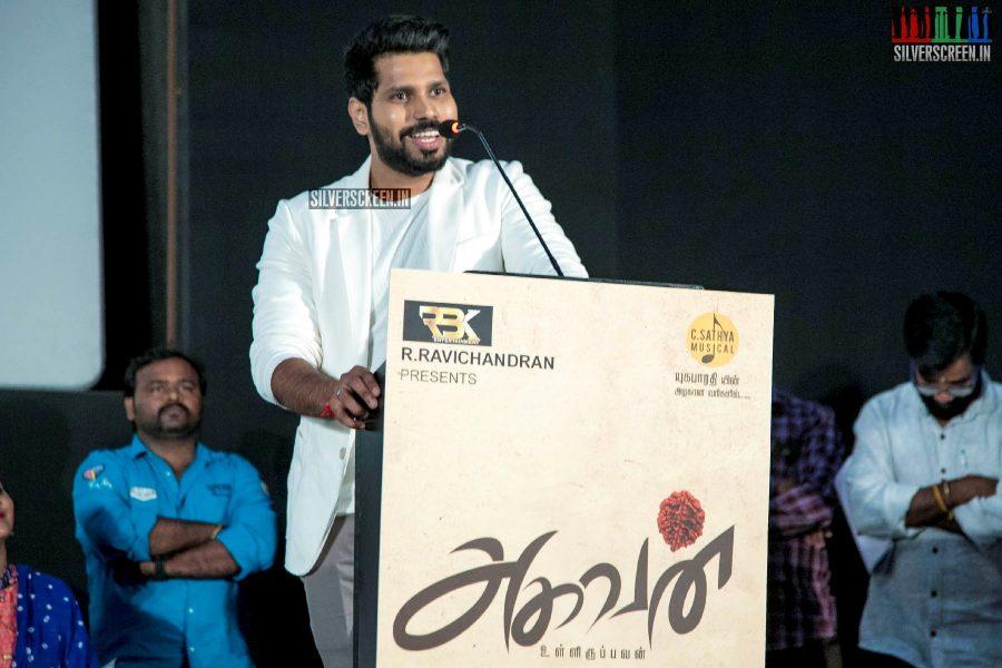 Kishore Ravichandran At The 'Aghavan' Audio Launch
