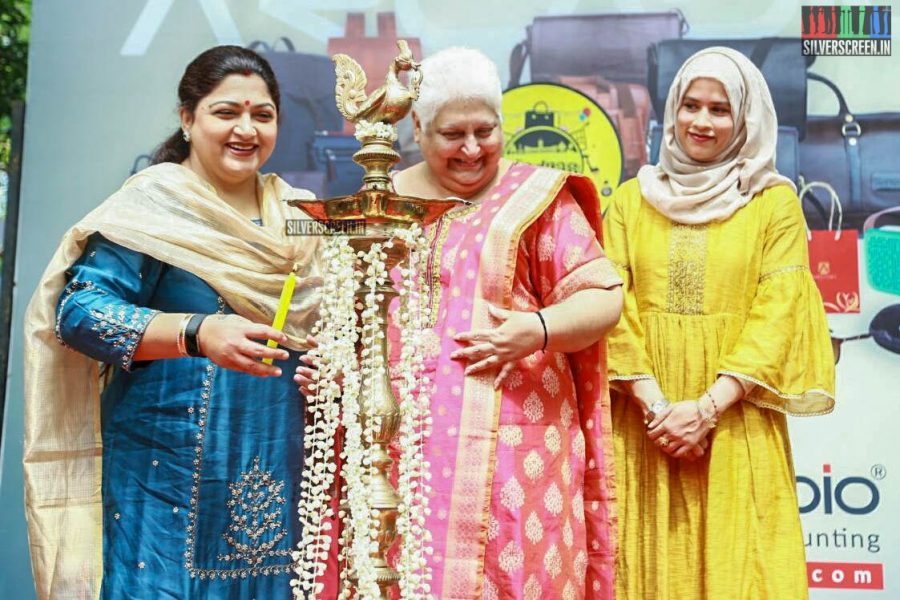 Kushboo At The Madras Mela Event