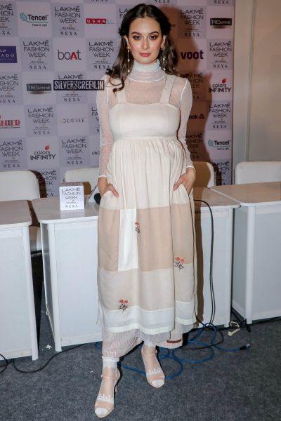 Evelyn Sharma At Lakme Fashion Week Summer/ Resort 2019 – Day 2