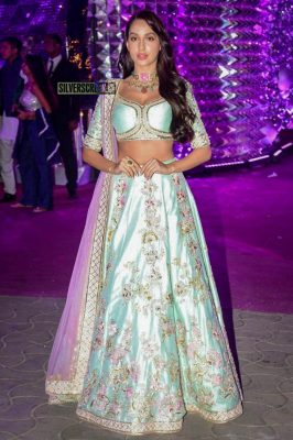 Nora Fatehi At The Azhar Morani Sangeet