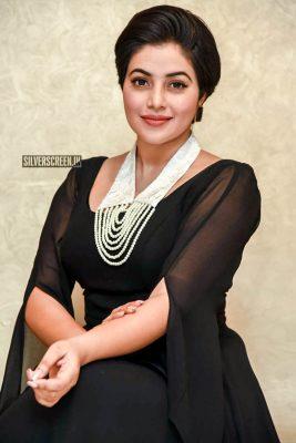 Poorna At The 'Suvarna Sundhari' Trailer Launch