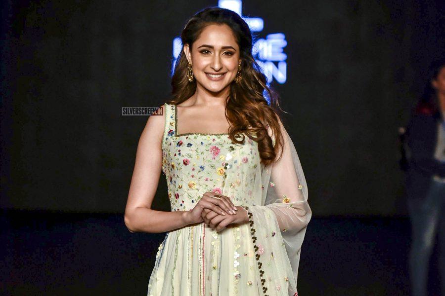 Pragya Jaiswal Walks The Ramp For Gazal Mishra At Lakme Fashion Week Summer/Resort 2019