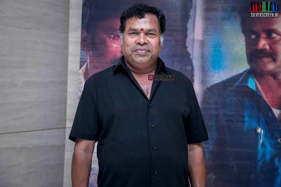Mayilsamy At The 'LKG' Success Meet