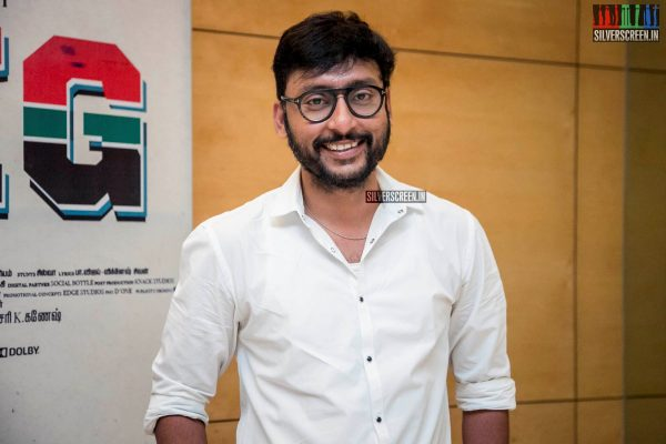 RJ Balaji At The 'LKG' Success Meet