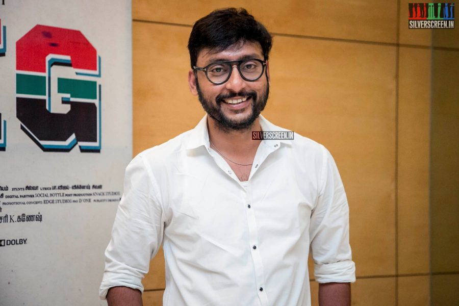 RJ Balaji At The 'LKG' Success Meet