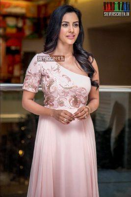 Priya Anand At The 'LKG' Success Meet