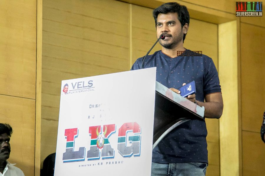 Pa Vijay At The 'LKG' Success Meet