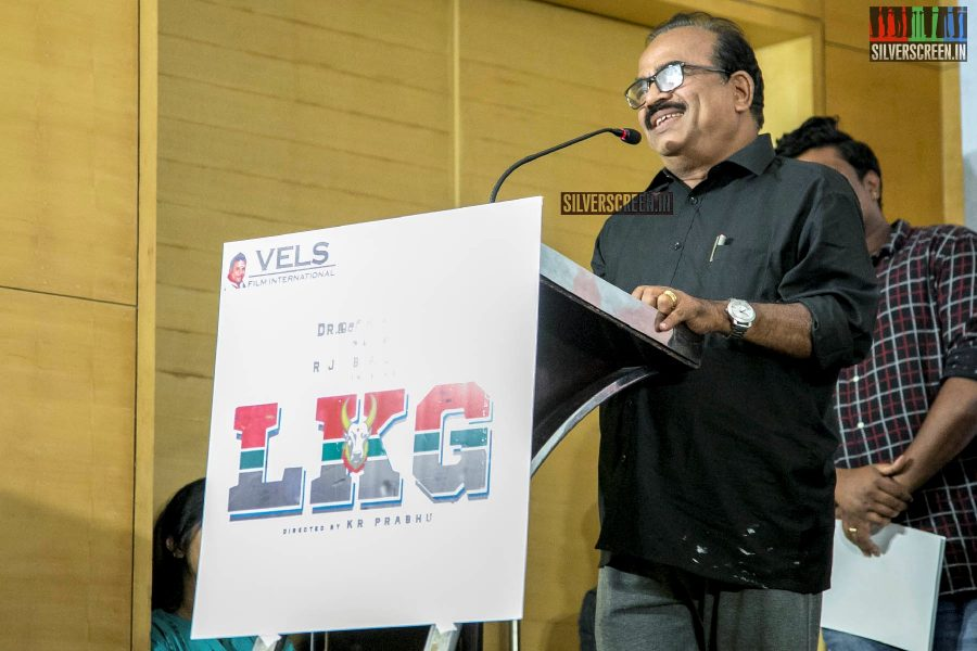 Nanjil Sampath At The 'LKG' Success Meet