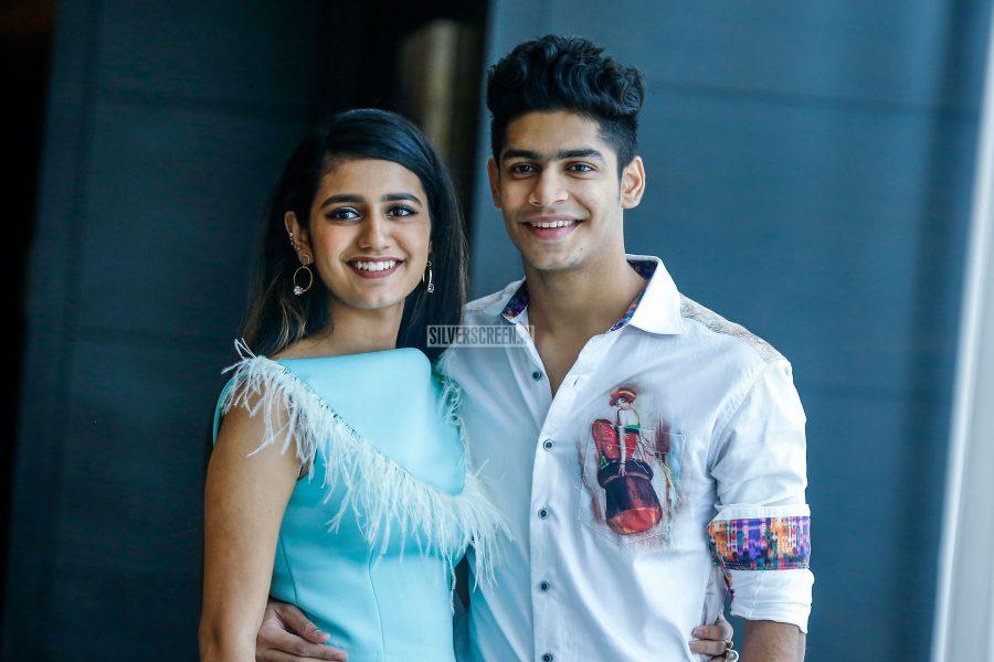Priya Prakash Varrier, Roshan Abdul Promote 'Lovers Day'