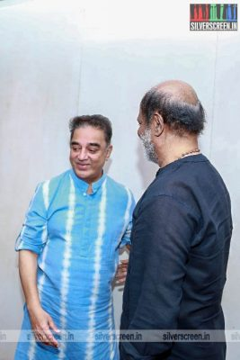 Rajinikanth Invites Kamal Haasan To His Daughter Soundarya's Wedding