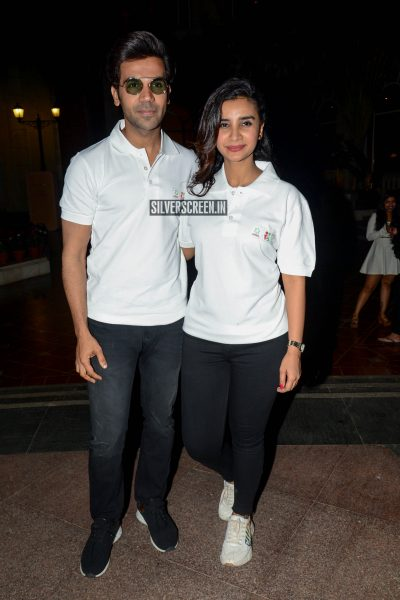 Rajkummar Rao, Patralekha At The Ariel's Sons Share The Load Event