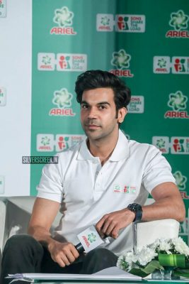 Rajkummar Rao At The Ariel's Sons Share The Load Event