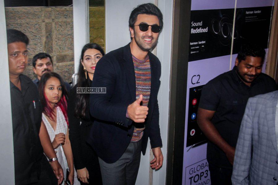 Ranbir Kapoor At A Meet & Greet Event