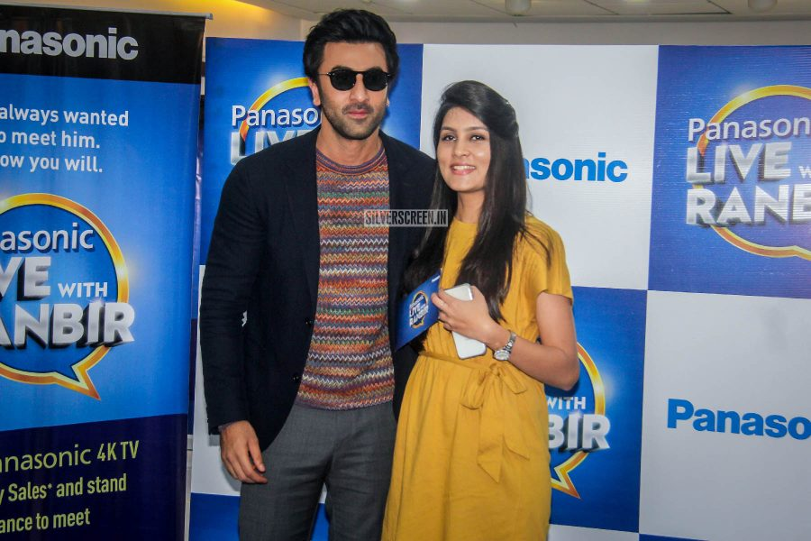 Ranbir Kapoor At A Meet & Greet Event