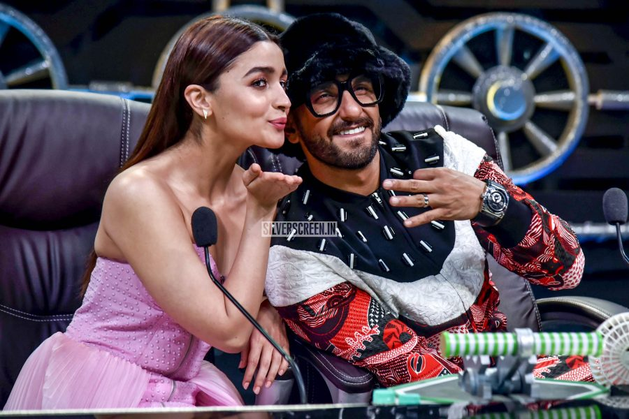 Ranveer Singh, Alia Bhatt Promote 'Gully Boy'