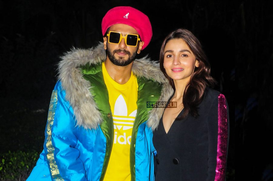 Ranveer Singh And Alia Bhatt Promote 'Gully Boy'