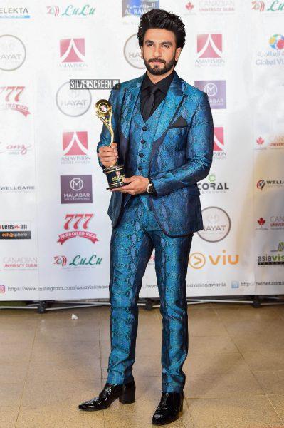 Ranveer Singh At Asiavision Movie Awards 2018