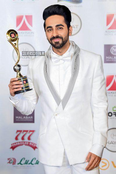 Ayushmann Khurrana At Asiavision Movie Awards 2018