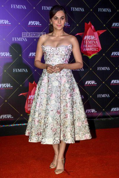 Taapsee Pannu At Femina Beauty Awards 2019