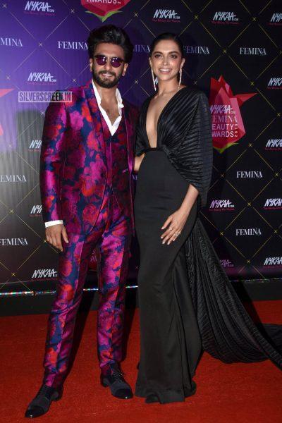 Deepika Padukone, Ranveer Singh At Femina Beauty Awards 2019