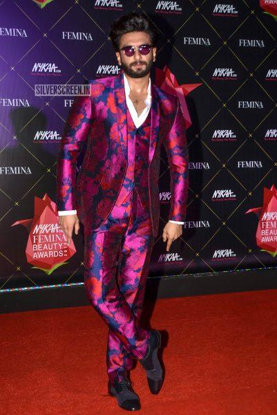 Ranveer Singh At Femina Beauty Awards 2019