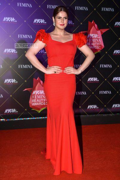 Zareen Khan At Femina Beauty Awards 2019