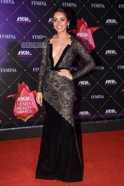 Asha Negi At Femina Beauty Awards 2019
