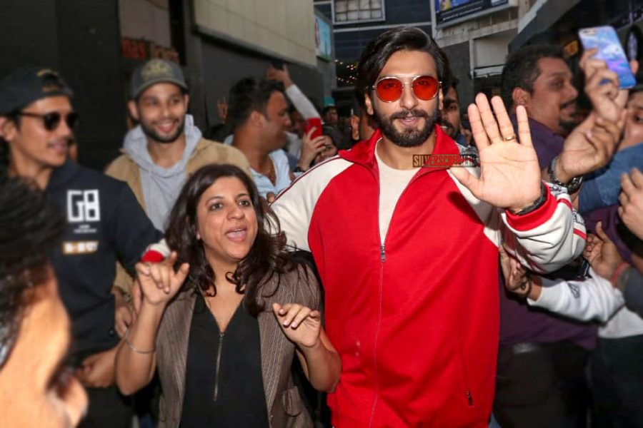 Ranveer Singh Promotes 'Gully Boy'