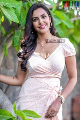 Priya Anand At The 'LKG' Press Meet