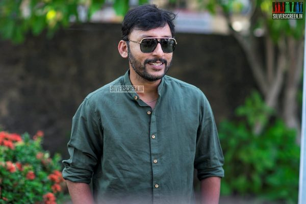 RJ Balaji At The 'LKG' Press Meet