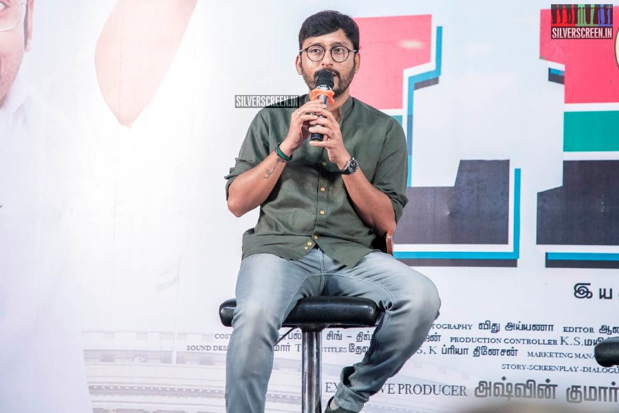 RJ Balaji At The 'LKG' Press Meet