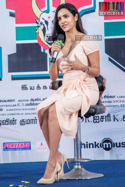 Priya Anand At The 'LKG' Press Meet