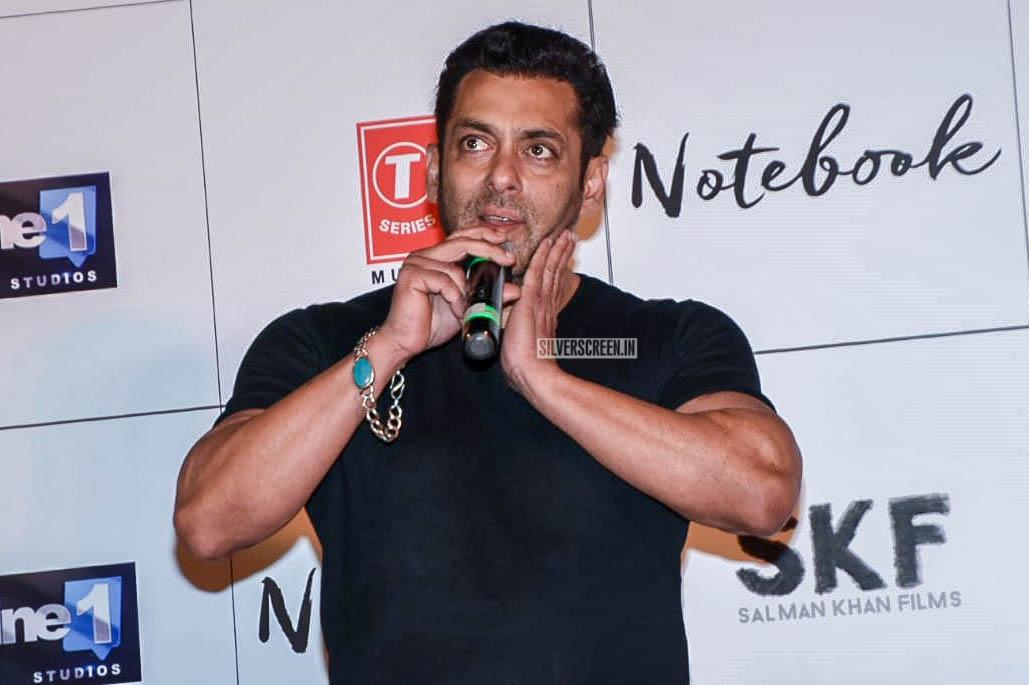Salman Khan Promotes 'Notebook'