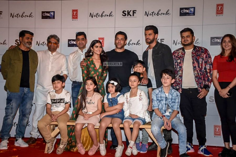 Salman Khan Promotes 'Notebook'