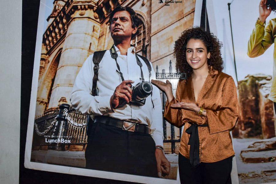 Sanya Malhotra At The 'Photograph' Trailer Launch