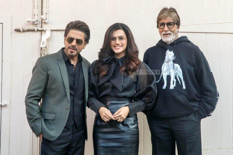 Shah Rukh Khan, Amitabh Bachchan, Taapsee Pannu Promote 'Badla'