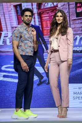 Shahid Kapoor, Vaani Kapoor Walks The Ramp For Marks & Spencer Spring Collection
