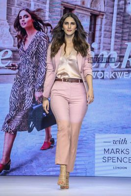 Vaani Kapoor Walks The Ramp For Marks & Spencer Spring Collection