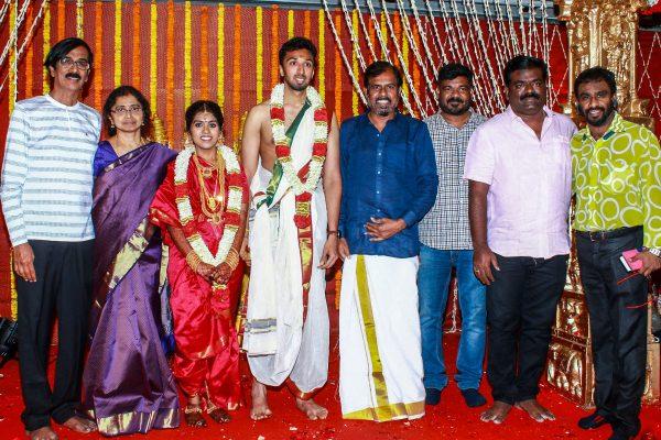 RK Selvamani At Harish-Priya Wedding Reception