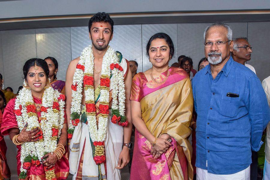 Suhasini, Mani Ratnam At Harish-Priya Wedding Reception