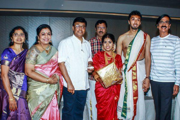 K Bhagyaraj At Harish-Priya Wedding Reception