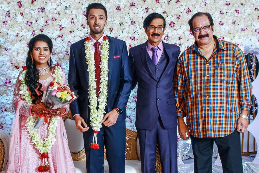 Suresh Krissna At Harish-Priya Wedding Reception