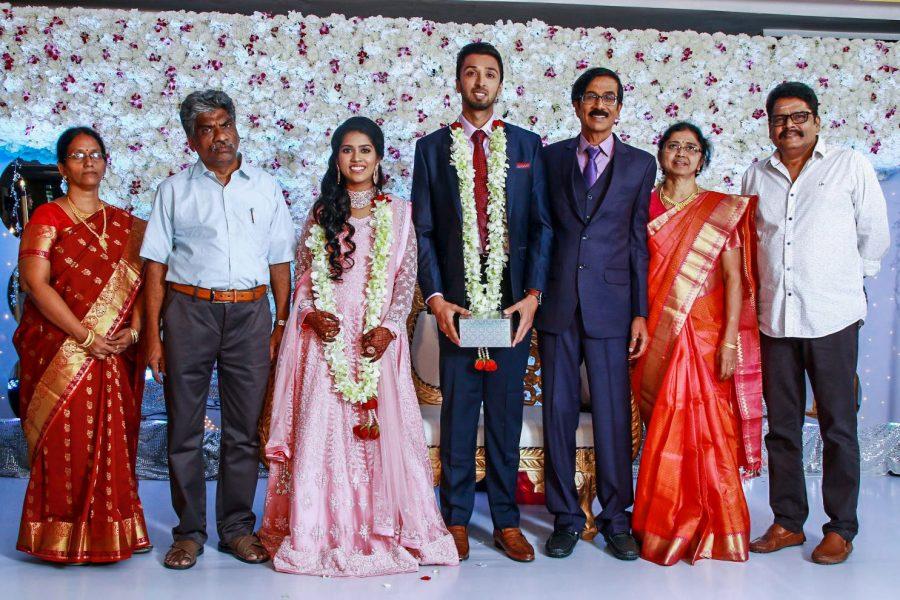 KS Ravikumar At Harish-Priya Wedding Reception